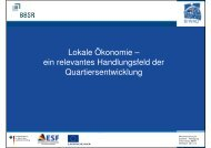 Beitrag - MIQUA - Mikrofinanzierung für Quartiere