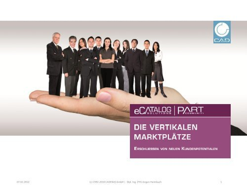 (c) 1992-2010 CADENAS GmbH   Dipl. Ing. (FH) Jürgen Heimbach 1 ...