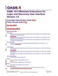 sstc-saml-metadata-ui-v1.0-csprd02-diff - docs oasis open - Oasis