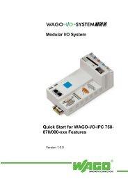3 1 WAGO-I/O-IPC 758-870 and 758-870/000-010
