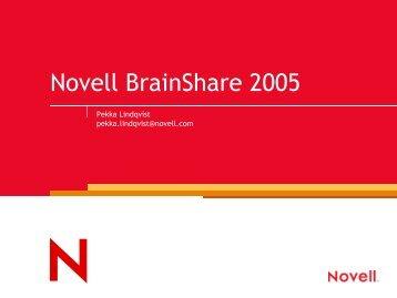 Novell BrainShare 2005