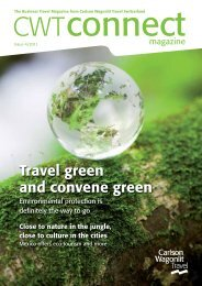 Green Meetings - Carlson Wagonlit Travel