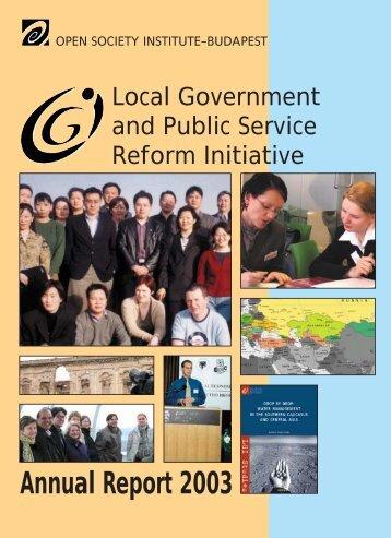 Annual Report 2003 - LGI