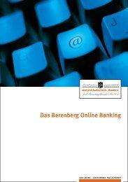 beim Berenberg Online Banking - Berenberg Bank