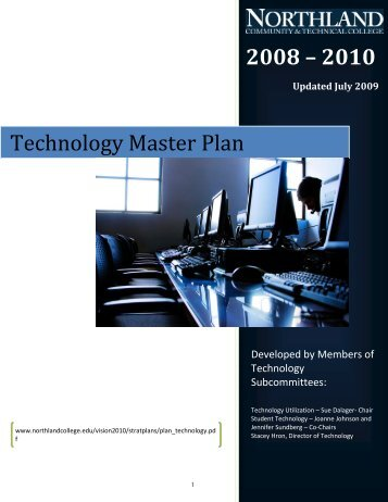 Technology Master Plan - Northland Community & Technical College