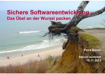 Sichere Softwareentwicklung