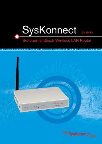 SK-54R1 Benutzerhandbuch - SysKonnect