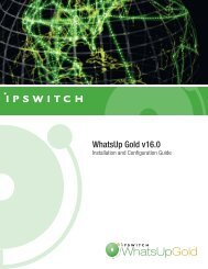Installing and Configuring WhatsUp Gold v16 - Ipswitch ...