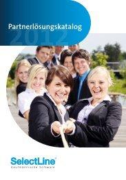 Partnerlösungskatalog – 2012 - SelectLine Software GmbH