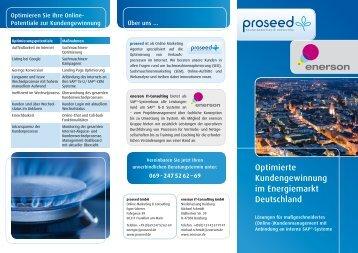 Optimierte Kundengewinnung im Energiemarkt Deutschland (PDF)