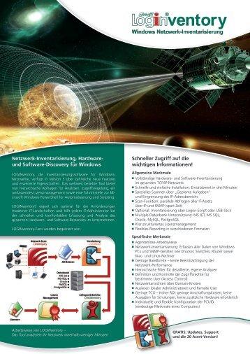 Windows Netzwerk-Inventarisierung Netzwerk ... - Connectware.de