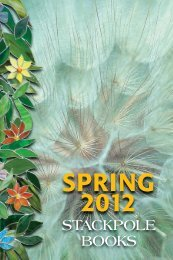 SPRING 2012 NEW TITLES from Stackpole Books