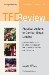 Practical Actions to Combat Illegal Logging - Yale School of Forestry ...