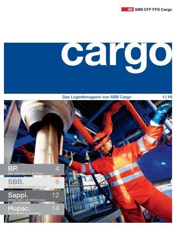 Das Logistikmagazin Von SBB Cargo – 1