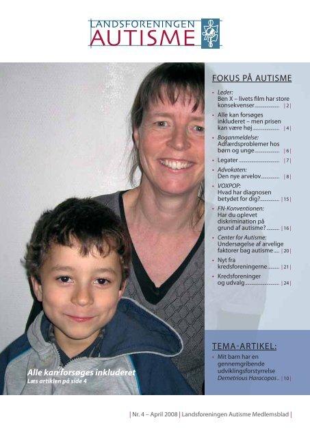 tema-artikel! - Landsforeningen Autisme