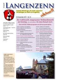 Ausgabe Nr. 24 vom 09.12.2011 - Langenzenn
