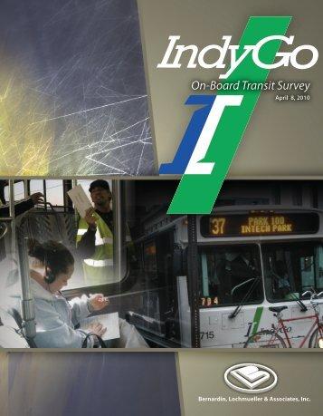 On-Board Passenger Travel Survey - Indianapolis Metropolitan ...