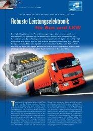 Robuste Leistungselektronik - HANSER automotive