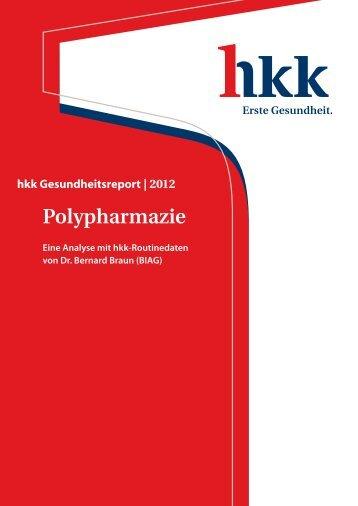 hkk Gesundheitsreport 2012 - Polypharmazie (Eine Analyse mit hkk ...