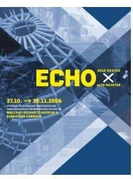 ECHO-Katalog - Kunsthochschule für Medien