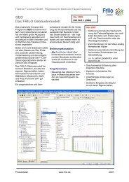 Friedrich + Lochner - Statikrechenprogramme
