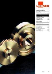 Werkstoffdatenblätter Mehrstoffzinnbronzen und ... - Looser