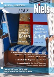 Juni 2011 - Ev.-luth. Kirchengemeinde Westerland/Sylt