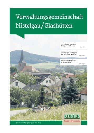 Verwaltungsgemeinschaft Mistelgau/Glashütten - Verlagsbeilagen ...