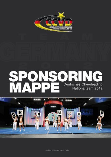 Sponsoring Mappe Nationalteam 2012 - Nationalteam - CCVD