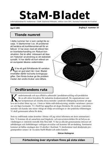 StaM-Bladet 10