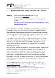 a) Aerztestatistik 2006 - Apotheken-Schaffhausen.ch