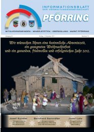 Informationsblatt-2011-12 - Markt Pförring