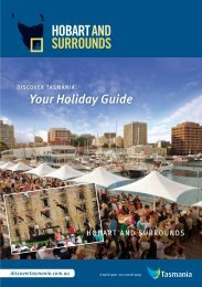 Hobart and Surrounds (PDF, 14.6 - Discover Tasmania