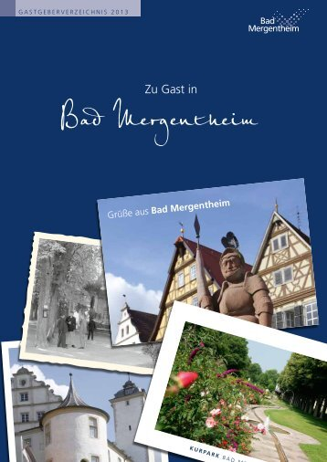 Zu Gast in - Bad Mergentheim