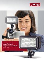 Catálogo Antorchas de video LED - Metz