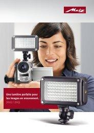 Catalogue Lampes vidéo à LED - Metz