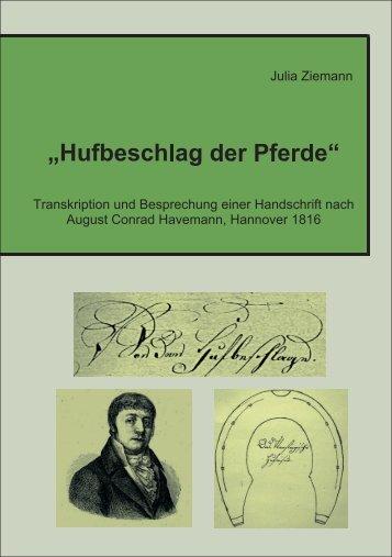 Hufbeschlag der Pferde - Stiftung Tierärztliche Hochschule Hannover
