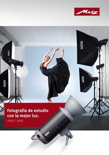 Fotografía de estudio con la mejor luz. - Metz