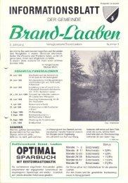GEMEINDEZEITUNG - 03 - Juli 1989 (4,8 MB) - Brand-Laaben