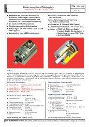 Modellreihe TRX 50 - MULTITOUR - TWK-ELEKTRONIK GmbH