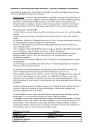 Protokoll Elternrat 11.03.10 - Gymnasium Damme