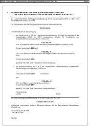 Rainer Litzenberger - Bekanntmachung Genehmig ... - Neu-Isenburg