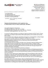Stellungnahme zum offenen Brief der Mainzer - Kein Kohlestrom ...