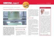 SIMONAreport 02/2012 - Simona AG