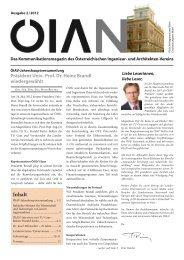 Präsident Univ.-Prof. Dr. Heinz Brandl wiedergewählt - OIAV ...