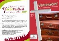 Gemeindebrief Linkenheim 2-2011 - Evangelische ...