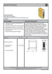 Han® 24 HPR enlarged Ha-VIS FTS 3100-A ... - Acal Technology