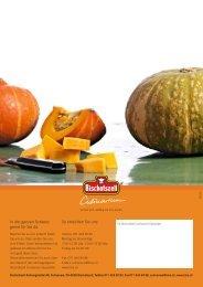Beilagen, Gemüse und Pilze - Gutes aus der Schweiz