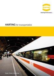 HARTING for transportation