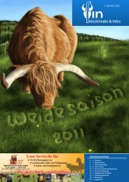 leischrinder & Infos - Highland Cattle Lilienthal